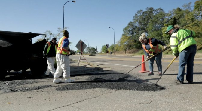 The people (and machines) who fix Minnesota's potholes