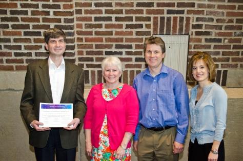 2013 Research Partnership Award winners