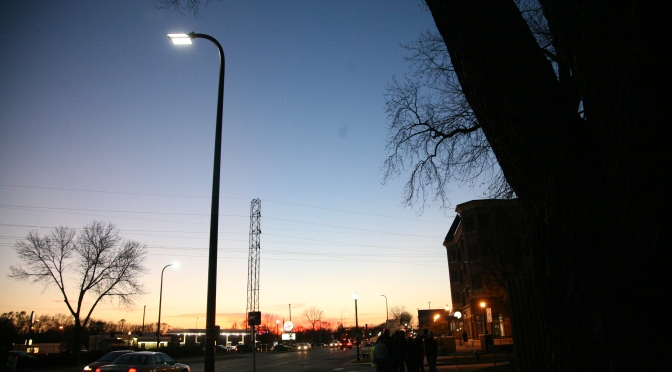 Are energy-efficient streetlights cost-effective?