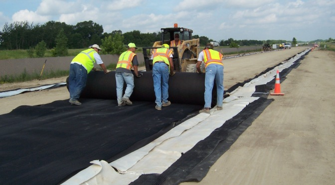 Geotextile research at MnROAD
