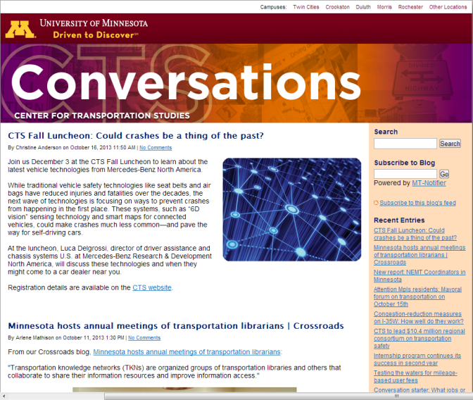 Introducing new CTS blog: Conversations
