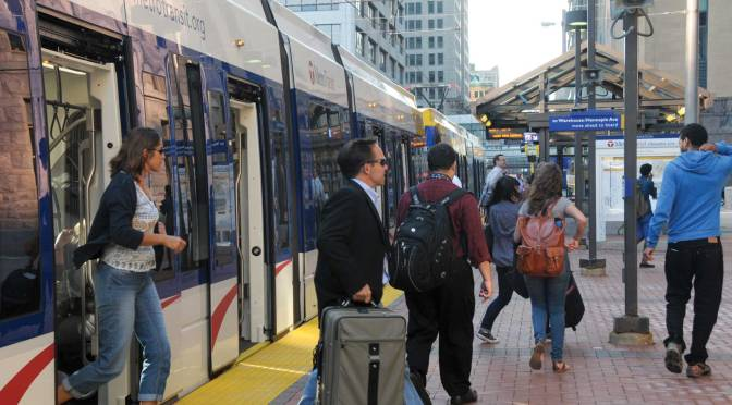 Transitways spurring economic growth and development, improving mobility, and supporting equity