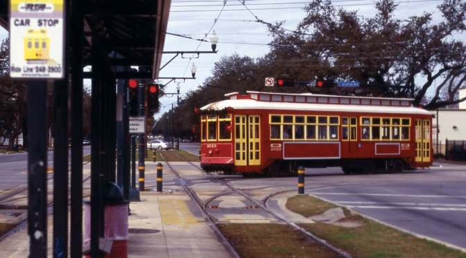Do streetcars support commercial development? New Orleans results say yes