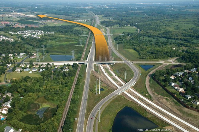 Funding highway projects with value capture could speed project completion