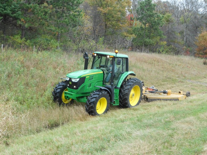GPS-equipped mowers to save money, reduce noxious weeds
