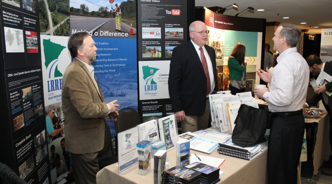 LRRB booth at the Minnesota's Transportation Conference