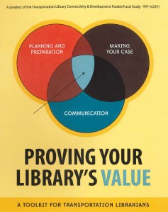 Proving Your Library's Value: A Toolkit for Transportation Libraries