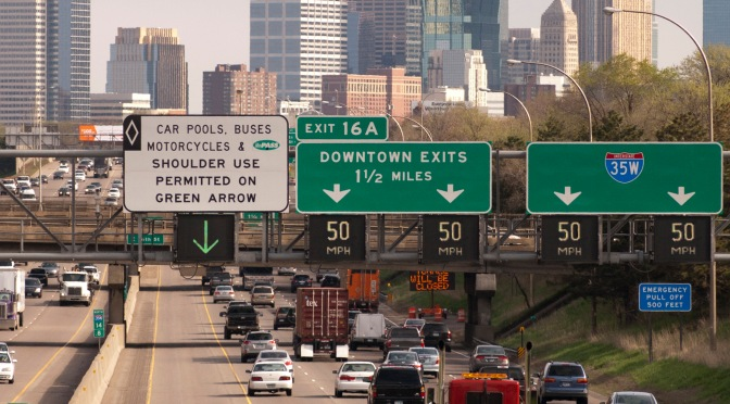 What those signs over the freeway are actually telling you