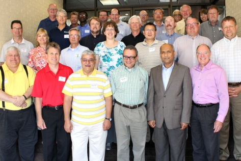 Researchers came from Missouri, Maine, Texas, Illinois, Michigan, California, Ontario, Wisconsin, Indiana and Washington for the three-day workshop.