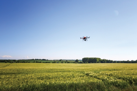 Potential uses of UASs include precision agriculture.