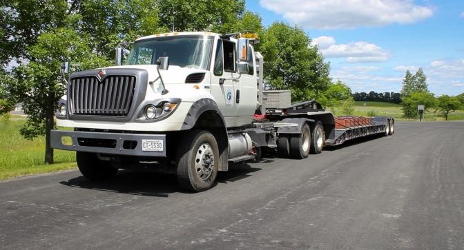 MnROAD five-axle truck