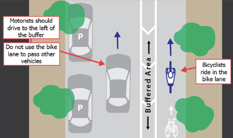 Protected Bike Lanes