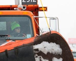 MnDOT plow truck operator.