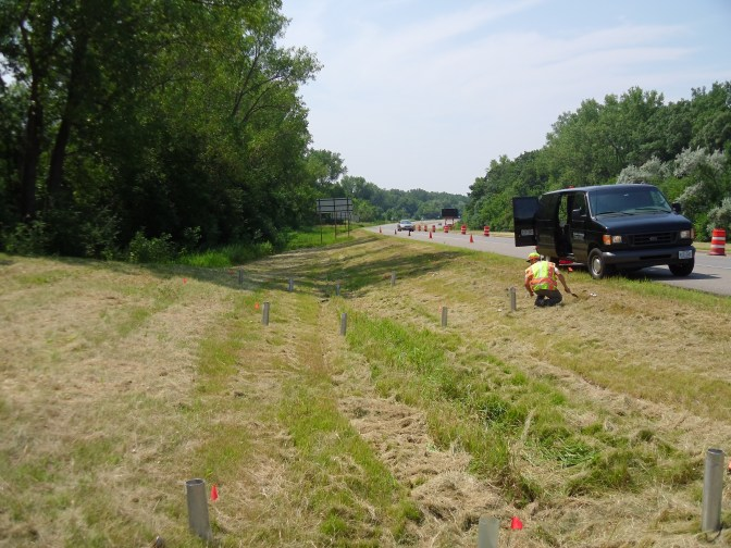 How roadside drainage ditches reduce pollution