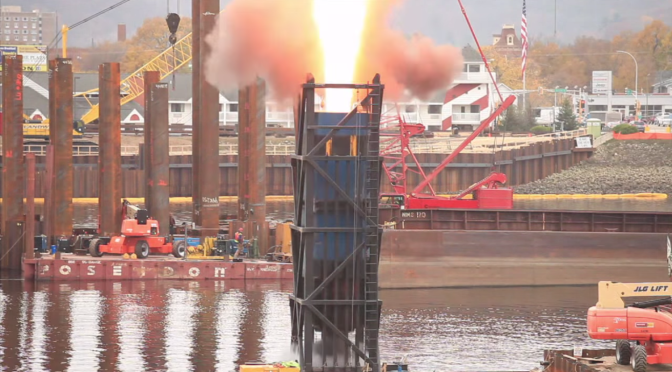 Video: Load Testing for the Winona bridge