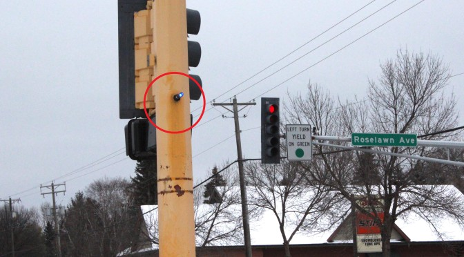 How those little blue lights make intersections safer
