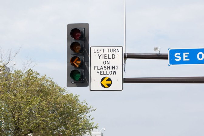 New permitted left-turn model helps improve intersection safety