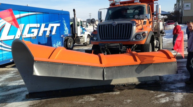 MnDOT Plow Drivers Invent New, Hybrid Plow Design