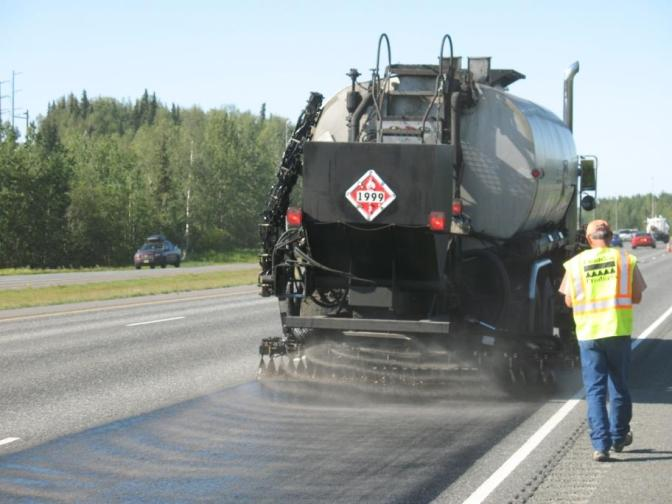 Taconite byproduct reduces road wear from studded tires