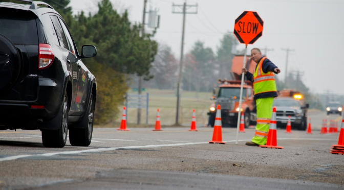 Reducing speeds to improve safety for work-zone flaggers