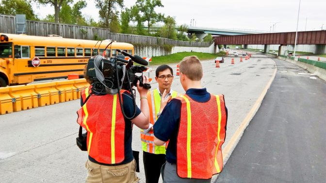 New work-zone warning app featured on KARE 11