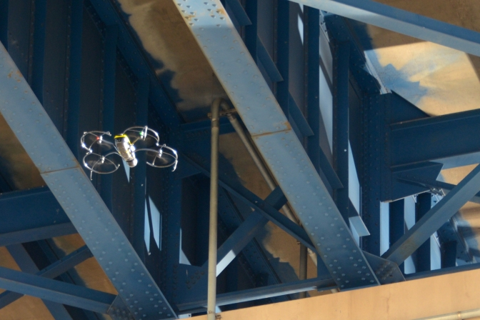 MnDOT Improves on Award-Winning Use of Drones for Bridge Inspection