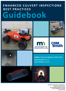 Enhanced Culvert Inspections - Best Practices Guidebook