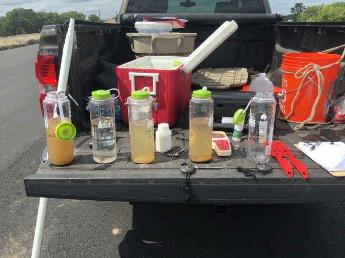 Tailgate Test Kit Speeds Up Flocculant Choice to Reduce Sediment in Runoff