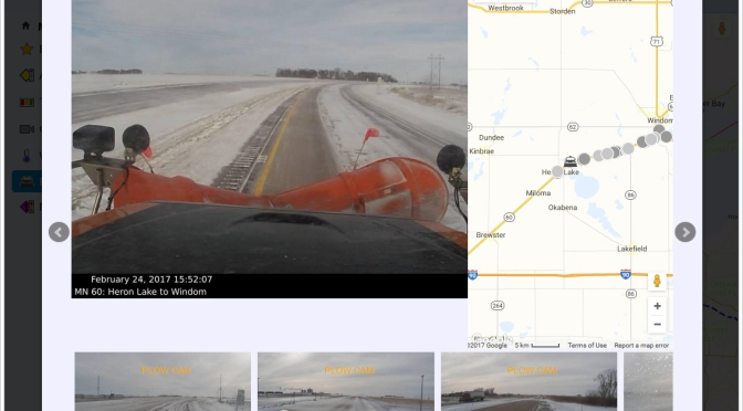 Adding Snowplow Camera Images to MnDOT's Traveler Information System