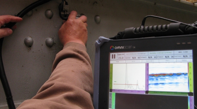 Ultrasonic Testing Method Improves Corrosion Detection on Steel Bridges