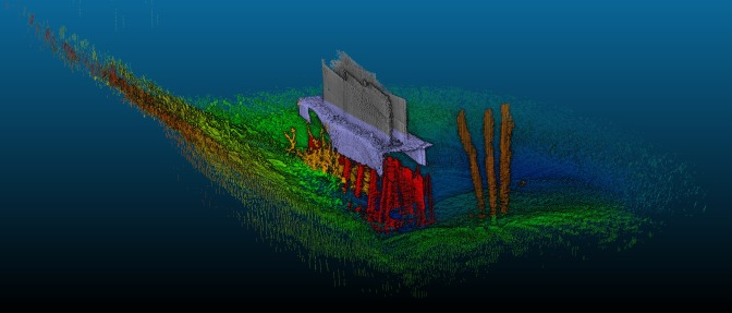 3-D Mapping of Bridges and Riverbeds