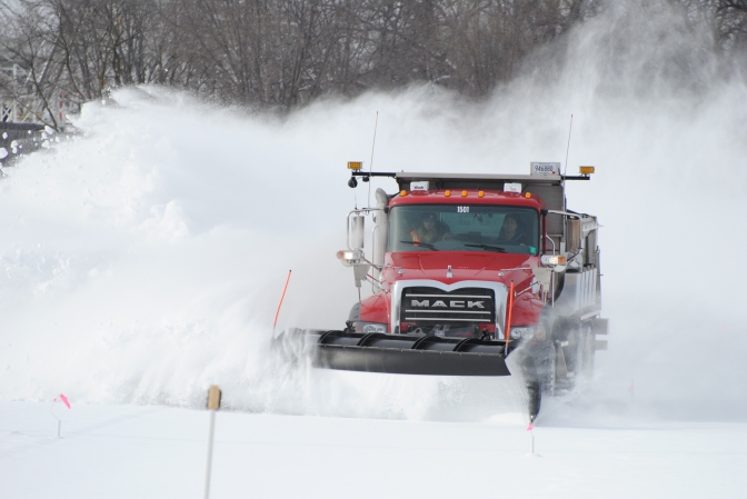 Salt Brine Study Shows Truck Traffic Drives Deicer Effectiveness