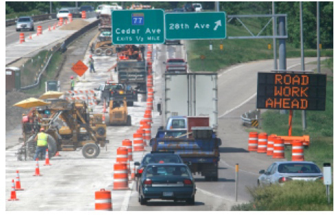Reporting Driver Intrusions in Work Zones