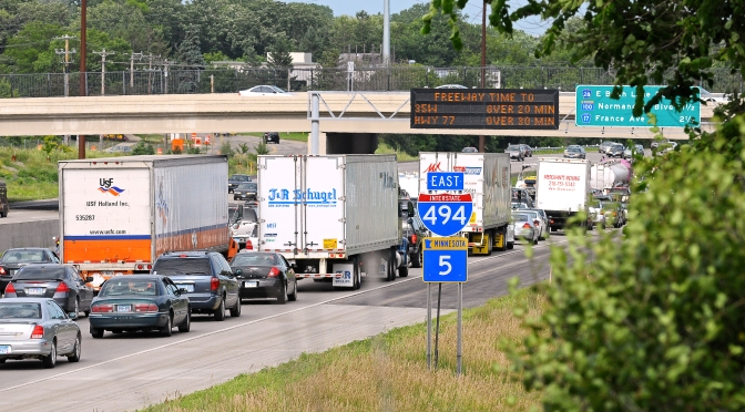 New performance measures identify truck delays and bottlenecks
