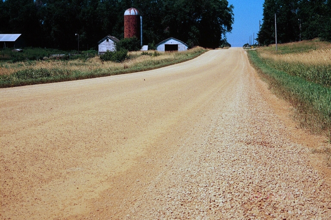 New Project: A Guide to Successfully Convert Severely Distressed Paved Roads to Unpaved Roads