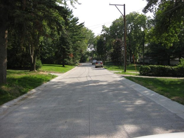 Pervious Concrete Pavement Reduces Runoff into Shoreview Lake