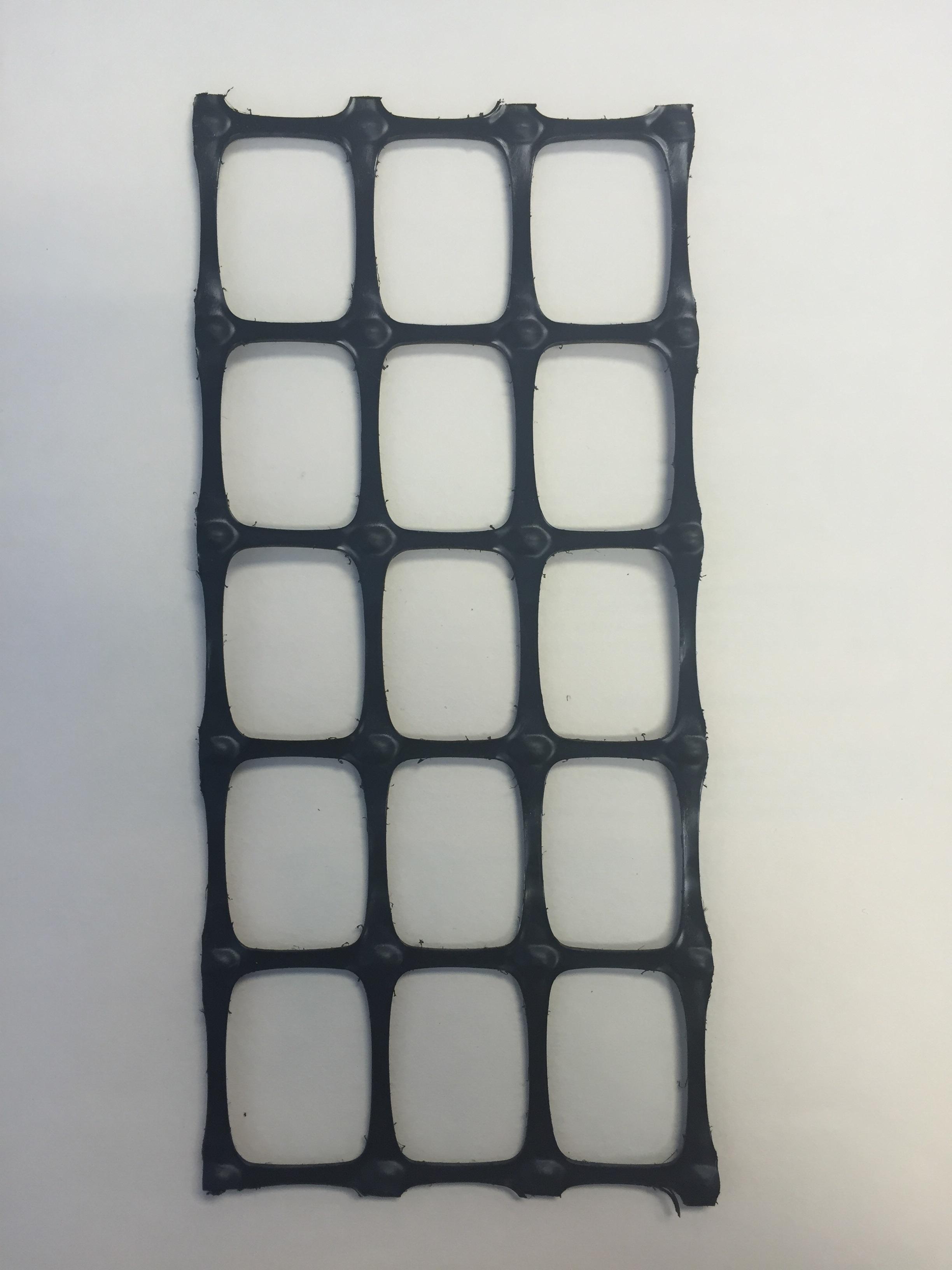 rectangular shaped geogrid