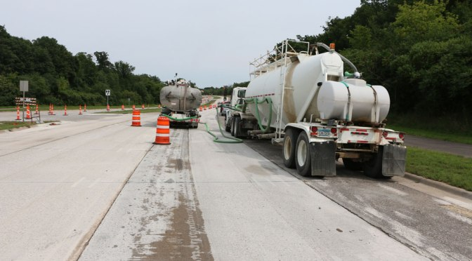 Concrete Grinding Residue Doesn't Appear to Negatively Affect Roadside Vegetation and Soil
