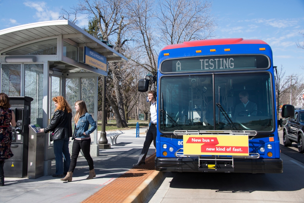 The A Line, Minnesota's first ABRT line, has a positive reputation among riders and area residents, and has had no negative impact on automotive traffic along Snelling Avenue, according to a recent MnDOT study.