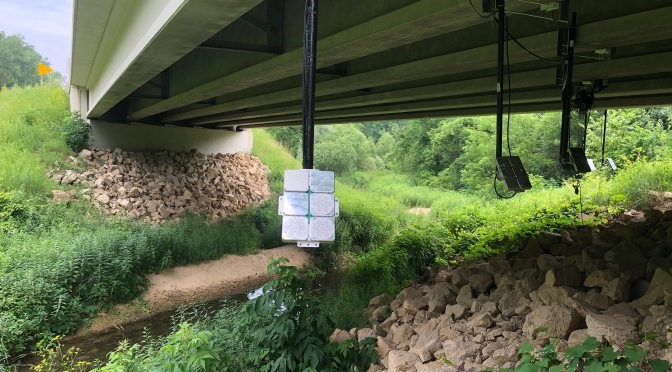 New Project: Use of Innovative Technology to temporarily Deter Bat-Bridge Use Prior to and During Construction