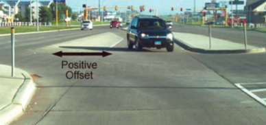 Design Standards for Unobstructed Sight Lines  at Left-Turn Lanes