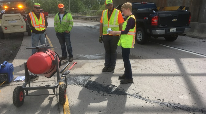 Taconite-Based Mixture Shows Further Promise for Repairing Potholes