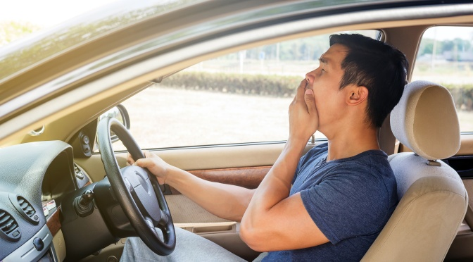 Get Lots of Sleep—But Not Behind The Wheel