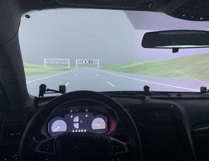 Inside the HumanFIRST driving simulator