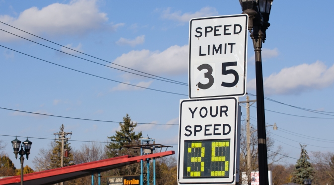 New Project: Impact of Speed Limit Changes on Urban Streets