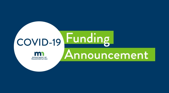 MnDOT Announces COVID-19 Research Funding