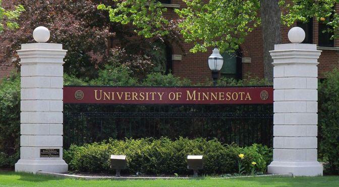 University of Minnesota Sign