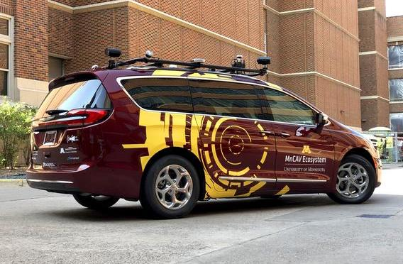 State-Of-The-Art Vehicle to Drive CAV Research